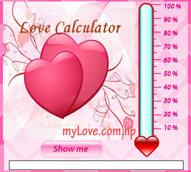 Calculate your love, love calculator online, your partner love calculator